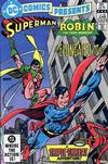 Cover for DC Comics Presents (DC, 1978 series) #58 [Direct-Sales]