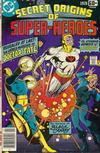 Cover for DC Special Series (DC, 1977 series) #10 - Secret Origins of Super-Heroes Special
