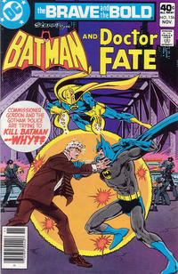 Cover Thumbnail for The Brave and the Bold (DC, 1955 series) #156