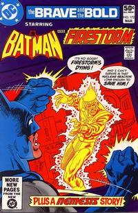 Cover Thumbnail for The Brave and the Bold (DC, 1955 series) #172 [Direct]