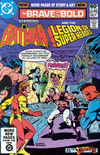 Cover Thumbnail for The Brave and the Bold (DC, 1955 series) #179 [Direct]