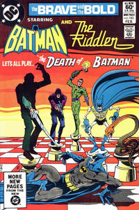 Cover Thumbnail for The Brave and the Bold (DC, 1955 series) #183 [Direct]