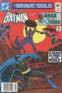 Cover Thumbnail for The Brave and the Bold (DC, 1955 series) #188 [Newsstand Edition]