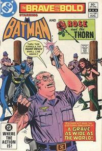 Cover Thumbnail for The Brave and the Bold (DC, 1955 series) #189 [Direct Sales]