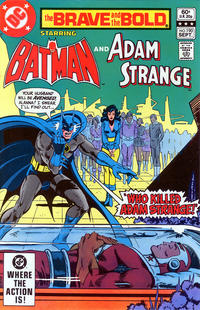 Cover Thumbnail for The Brave and the Bold (DC, 1955 series) #190 [Direct edition]