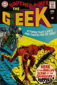 Cover Thumbnail for Brother Power the Geek (DC, 1968 series) #1