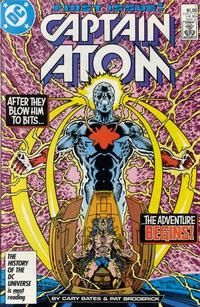 Cover Thumbnail for Captain Atom (DC, 1987 series) #1 [Direct]