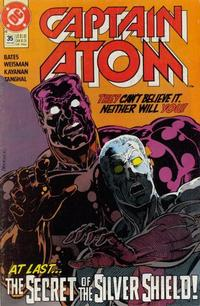 Cover Thumbnail for Captain Atom (DC, 1987 series) #35