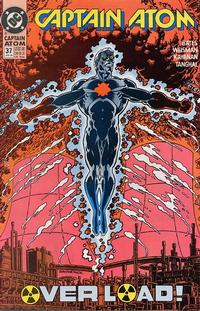 Cover Thumbnail for Captain Atom (DC, 1987 series) #37