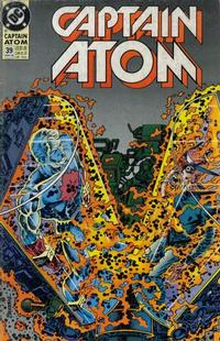 Cover Thumbnail for Captain Atom (DC, 1987 series) #39