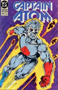 Cover Thumbnail for Captain Atom (DC, 1987 series) #40