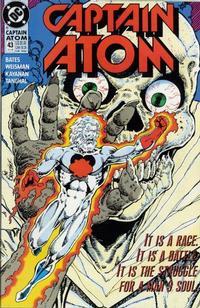 Cover Thumbnail for Captain Atom (DC, 1987 series) #43