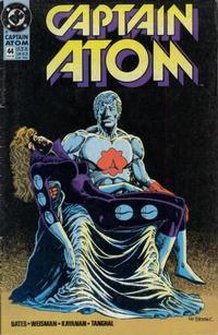 Cover for Captain Atom (DC, 1987 series) #44