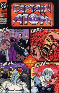Cover Thumbnail for Captain Atom (DC, 1987 series) #50