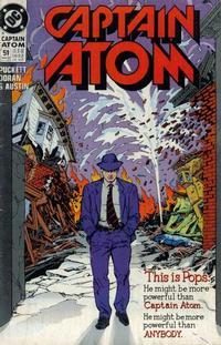 Cover Thumbnail for Captain Atom (DC, 1987 series) #51
