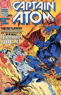 Cover Thumbnail for Captain Atom (DC, 1987 series) #54