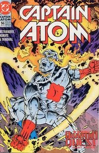 Cover Thumbnail for Captain Atom (DC, 1987 series) #56
