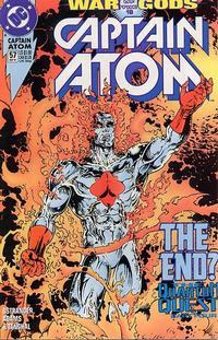 Cover for Captain Atom (DC, 1987 series) #57