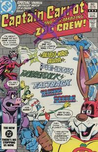 Cover Thumbnail for Captain Carrot and His Amazing Zoo Crew! (DC, 1982 series) #18 [Direct]
