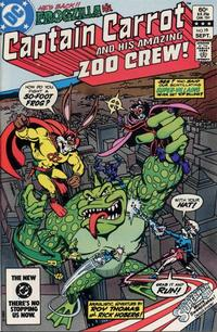 Cover Thumbnail for Captain Carrot and His Amazing Zoo Crew! (DC, 1982 series) #19 [Direct]