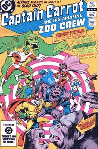 Cover Thumbnail for Captain Carrot and His Amazing Zoo Crew! (DC, 1982 series) #20 [Direct]