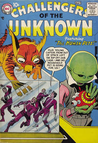 Cover Thumbnail for Challengers of the Unknown (DC, 1958 series) #1