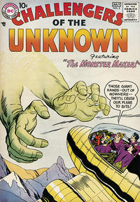 Cover Thumbnail for Challengers of the Unknown (DC, 1958 series) #2