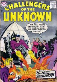 Cover Thumbnail for Challengers of the Unknown (DC, 1958 series) #3