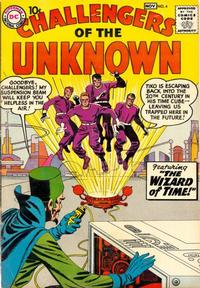 Cover Thumbnail for Challengers of the Unknown (DC, 1958 series) #4