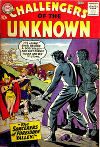 Cover Thumbnail for Challengers of the Unknown (DC, 1958 series) #6