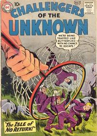 Cover Thumbnail for Challengers of the Unknown (DC, 1958 series) #7