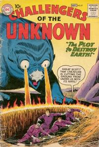Cover Thumbnail for Challengers of the Unknown (DC, 1958 series) #9