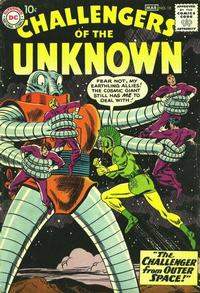 Cover Thumbnail for Challengers of the Unknown (DC, 1958 series) #12