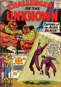 Cover Thumbnail for Challengers of the Unknown (DC, 1958 series) #14