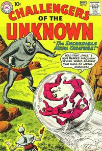 Cover Thumbnail for Challengers of the Unknown (DC, 1958 series) #16