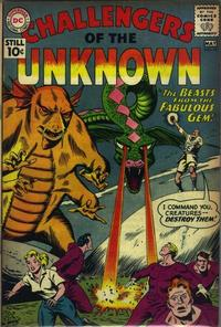 Cover Thumbnail for Challengers of the Unknown (DC, 1958 series) #19