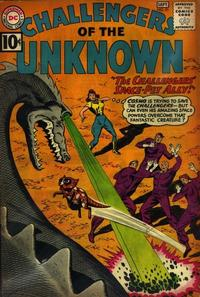 Cover Thumbnail for Challengers of the Unknown (DC, 1958 series) #21