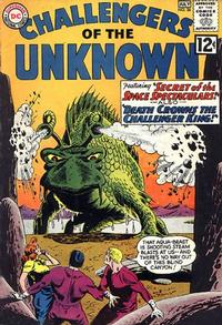 Cover Thumbnail for Challengers of the Unknown (DC, 1958 series) #26