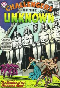 Cover Thumbnail for Challengers of the Unknown (DC, 1958 series) #28