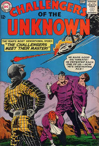 Cover Thumbnail for Challengers of the Unknown (DC, 1958 series) #33