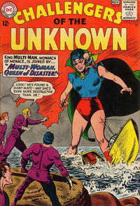 Cover Thumbnail for Challengers of the Unknown (DC, 1958 series) #34