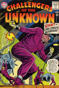 Cover Thumbnail for Challengers of the Unknown (DC, 1958 series) #36