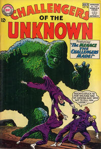 Cover Thumbnail for Challengers of the Unknown (DC, 1958 series) #38