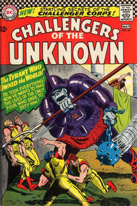 Cover Thumbnail for Challengers of the Unknown (DC, 1958 series) #49