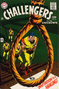 Cover Thumbnail for Challengers of the Unknown (DC, 1958 series) #64