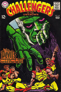 Cover Thumbnail for Challengers of the Unknown (DC, 1958 series) #65