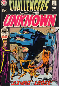 Cover Thumbnail for Challengers of the Unknown (DC, 1958 series) #75