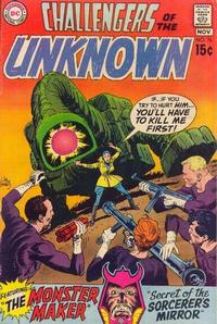 Cover Thumbnail for Challengers of the Unknown (DC, 1958 series) #76