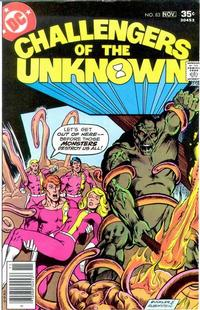 Cover Thumbnail for Challengers of the Unknown (DC, 1958 series) #83
