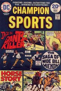 Cover Thumbnail for Champion Sports (DC, 1973 series) #3